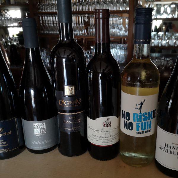 Unsere Besten von der Ahr – Exklusives Wein-Tasing