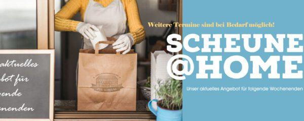 Scheune@home-Unser Speisen-Angebot zu Pfingsten!