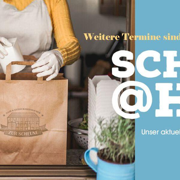 Scheune@home-Speisen zum Abholen / Anleitung